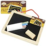 Wooden Chalkboard Set