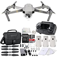 DJI Mavic Pro Platinum Collapsible Quadcopter Travel Bag Ultimate Bundle