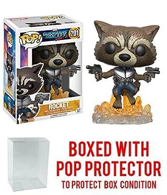 Guardians of the Galaxy Vol. 2 Rocket Pop! Vinyl Figure with Free Pop Protector!