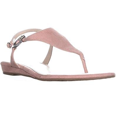 8a7665538bd9b Alfani Womens Honnee Open Toe Casual Ankle Strap Sandals  Amazon.co ...