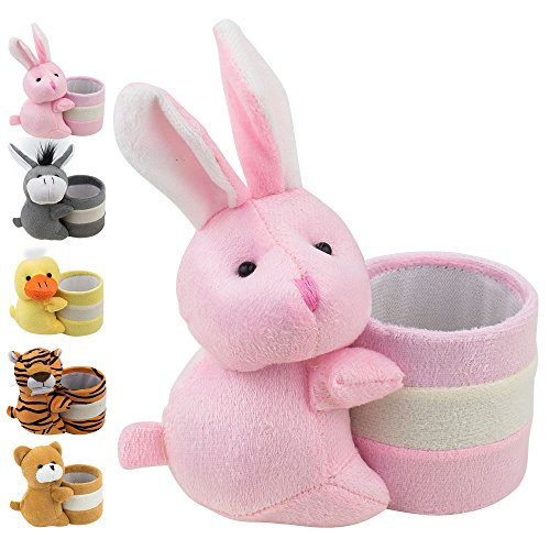 Eyeglass Holder Glasses Stand with Cute Plush Animal Character Design, Bunny, By - Sunglasses That Face Fit Find Your