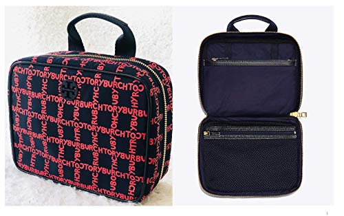 Tory Burch Quinn Printed T Hanging Cosmetic Case ()