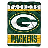 The Northwest Company Officially Licensed NFL Green Bay Packers 12th Man Plush Raschel Throw Blanket, 60
