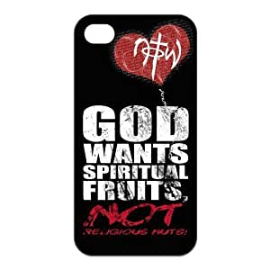 Custom Christ Design TPU Case Protector For Iphone 4 4S