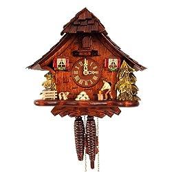 Alexander Taron Importer Weight Driven Black Forest Cuckoo Clock