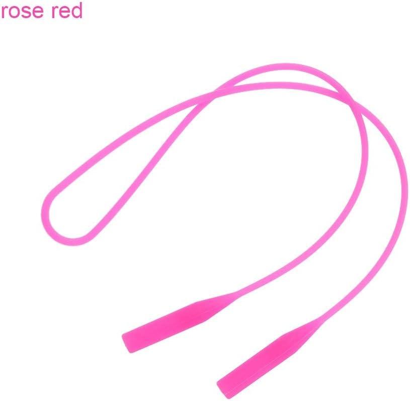 SMXGF Anti-Slip Neoprene String Summer Sunglasses Band Strap Rope Eyeglasses Strap Head Band Floater Cord Interchangeable Glasses Band Color : Style1 black