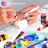 Acrylic Paint Set, Caliart 24 Vivid Colors