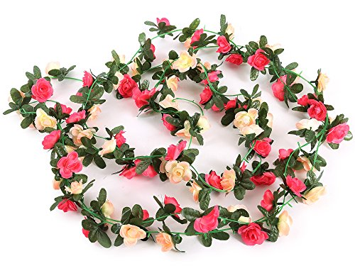Fabric Flower Garland - 3