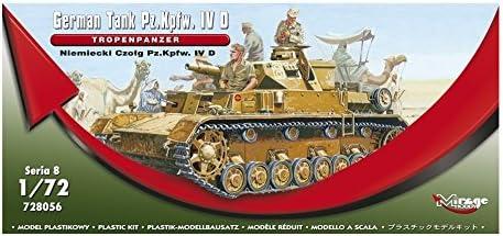 Mirage Hobby 728056 Pz.IV Tropenpanzer in 1:72