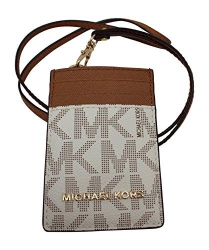 Michael Kors Lanyard ID Card Case Wallet Travel Jet Set Travel - Lanyards Michael Kors