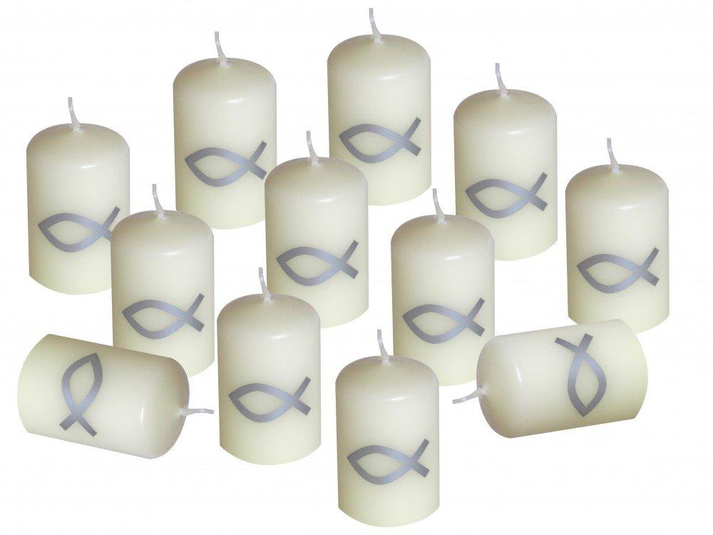 Tischdeko konfirmation 2012  Amazon.de: 12 Kerzen Votiverze Kommunion Tischdeko Konfirmation ...