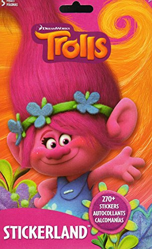 Trolls Stickers Book 270 Stickers