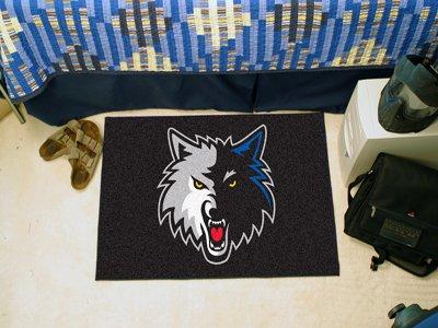 29' Logo Starter Mat (NBA Minnesota Timberwolves 18'' x 29'' Logo Starter Mat)
