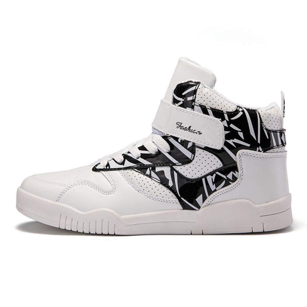 FHCGMX Cuero de la PU PU PU Martin Botas para Hombre Zapatos para Hombre Casual con Cordones Zapatillas Altas Caminar Calzado a6b158