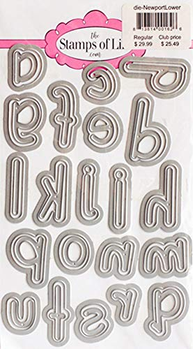 Newport Large Alphabet Lowercase Die Cuts for Scrapbooking and Card-Making by The Stamps of Life