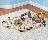 KidKraft Bucket Top Construction Train Set, 61-Piece