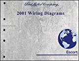 2001 Ford Escort & ZX-2 Wiring Diagram Manual Original