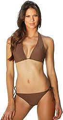 4af84eda69 Jelly Swimwear Women s Bikini Top Chocolate