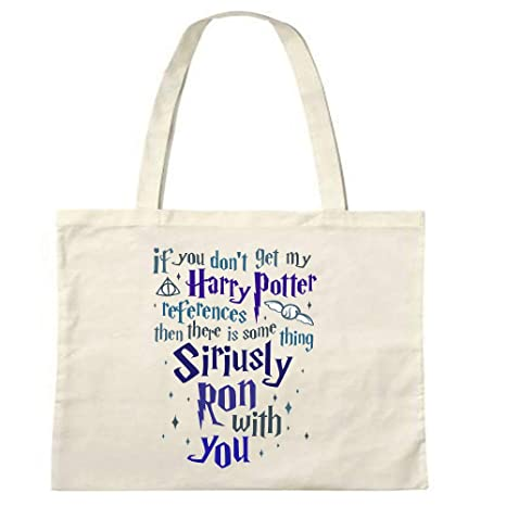 Harry Potter Referencias Something Ron with You Bolsa de ...