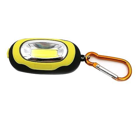 LEEDY - Llavero portátil con Linterna LED de 3 Modos ...