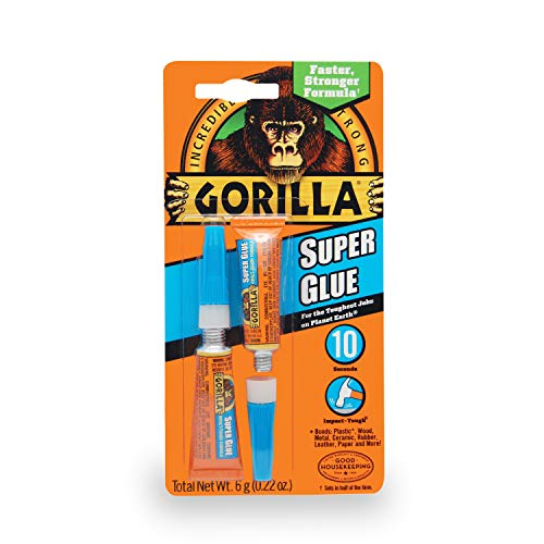 Just Stick - Gorilla Super Glue, 6 g, Clear
