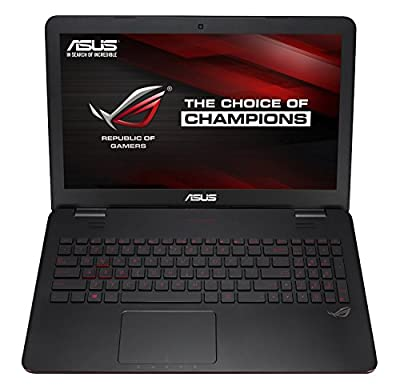 ASUS K501UX 15-inch Gaming Laptop (Intel Core i7 Processor, 8GB RAM, 256GB SSD Hard Drive, Windows 10 (64 bit)), Black/Silver Metal