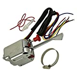 MonkeyJack Car Auto 12V Chrome Directional Turn Signal Switch Control for Ford Buick GMC