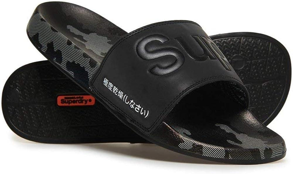 Superdry Men's AOP Beach Slide Slipper