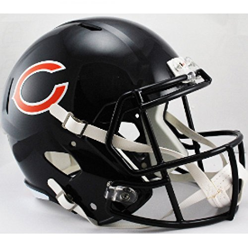 (Riddell NFL Chicago Bears Replica Speed Full Size Football Helmet)