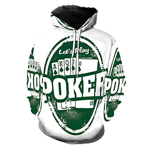 Dog Poker Play (Fashion 3D Print Casual Tracksuit Jogging Sportswear Stamp Royal Flush Grunge)