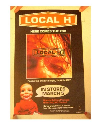 Local H Poster Here Comes The Zoo Localh