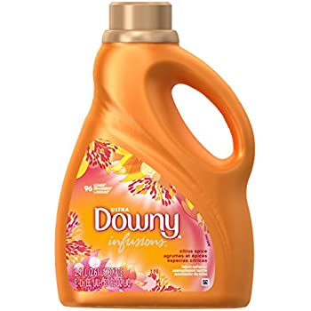 Downy Infusions Liquid Fabric Softener, Citrus Spice, 83.0 Fluid Ounce