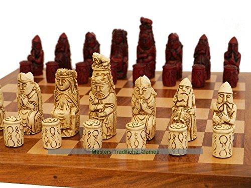 ●日本正規品● Mediaeval Mediaeval (cream Ornamental Pieces Chess Pieces (cream and red) B071HX2GL8, はちみつの恵:74efdb27 --- nicolasalvioli.com
