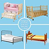 The Original Bed Rails for Toddlers. Portable Bed