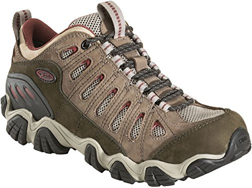 Oboz Sawtooth Low BDry Hiking Shoe - Men's Russet 9 by Oboz