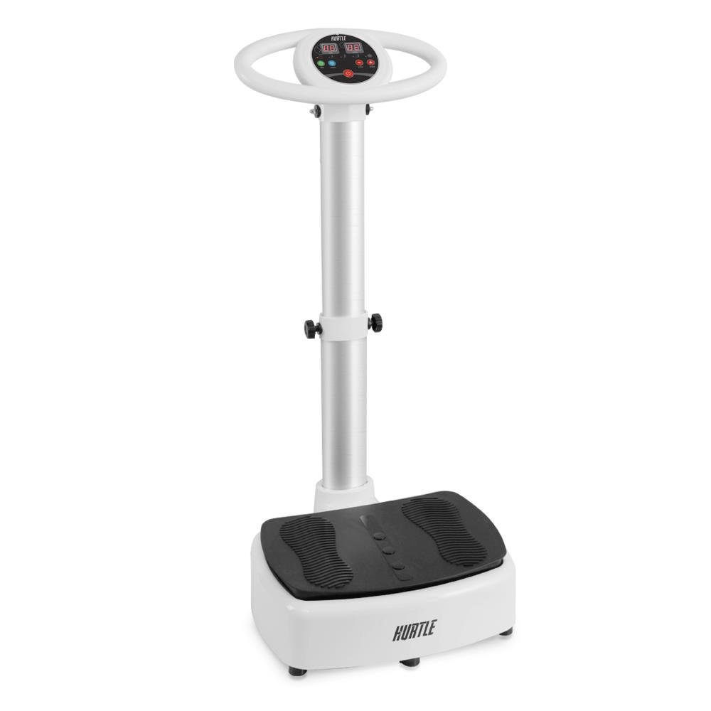 Standing Vibration Platform Exercise Machine - Revolutionary Equipment for Full Body Fitness Training - Digital LCD Display, Adjustable Settings Perfect for Weight Loss & Fat Burning - Pyle HURVBTR63