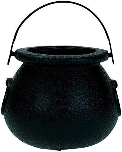 Plastic Witches Brew Cauldron Halloween Fancy Dress Accessory Party Decoration