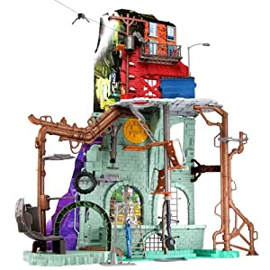 Amazon Com Teenage Mutant Ninja Turtles Sewer Lair
