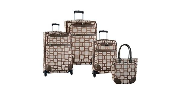 Ninewest Luggage Super Sign 4 Piece Luggage Set (16
