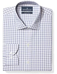 Men's Slim Fit Check Non-Iron Dress Shirt