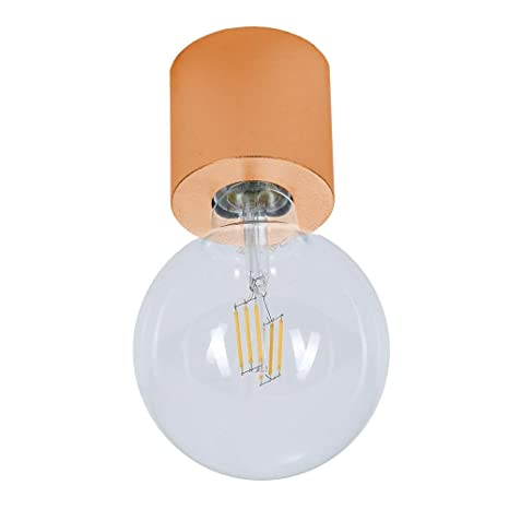 Cerámica Lámpara de Techo Minima | Lámpara de Techo de Cobre ...