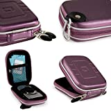 Convenient Protective [Purple] Adventure Case for Compact Panasonic Lumix Cameras