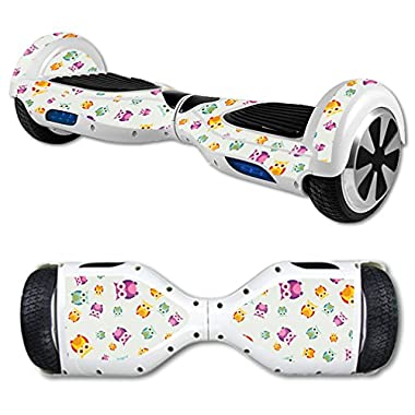 MightySkins Protective Vinyl Skin Decal for Self Balancing Scooter Board mini hover 2 wheel x1 razor wrap cover sticker Owls