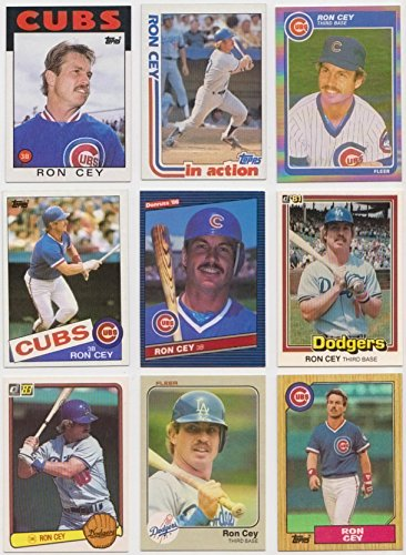 Ron Cey / 25 Different Baseball Cards featuring Ron Cey Ron Cey Baseball
