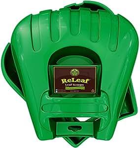 Releaf palas colectoras de hojas 2rastrillos de mano con hojas y hierba rápida estas unidades de mano. Si tiene hojas–las necesita