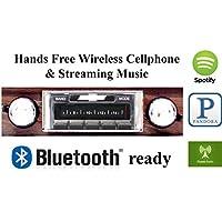 Bluetooth Enabled 1969 Chevy Impala Caprice USA-630 II High Power 300 watt AM FM Car Stereo / Radio USB, Aux, iPod inputs