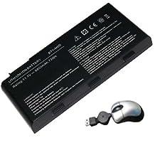 Amsahr Replacement Battery for MSI GT70, E6603, E6603-454, E6603-499 (AM-BATT-MSIGT70-05)