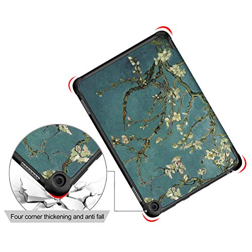 Asng All-New Fire HD 8 2020 / HD 8 Plus Case, Slim Lightweight Trifold Cover with Auto Wake/Sleep Fit for All-New Fire HD 8 (10th Generation, 2020 Release)