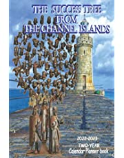 2022-2023 TWO-YEAR Calendar Planner book THE SUCCESS TREE FORM THE CHANNEL ISLANDS: Amazing Tropical channel island 2 Year Calendar, Agenda, Note Diary | 2022-2023 Monthly planner, organizer with vision board, Note, Holiday | Beautiful summer beach in the