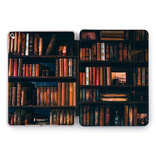 Wonder Wild Book Shelf Apple iPad Pro Case 9.7 11 inch Mini 1 2 3 4 Air 2 10.5 12.9 2018 2017 Design 5th 6th Gen Clear Smart Hard Cover - Shelf Poem
